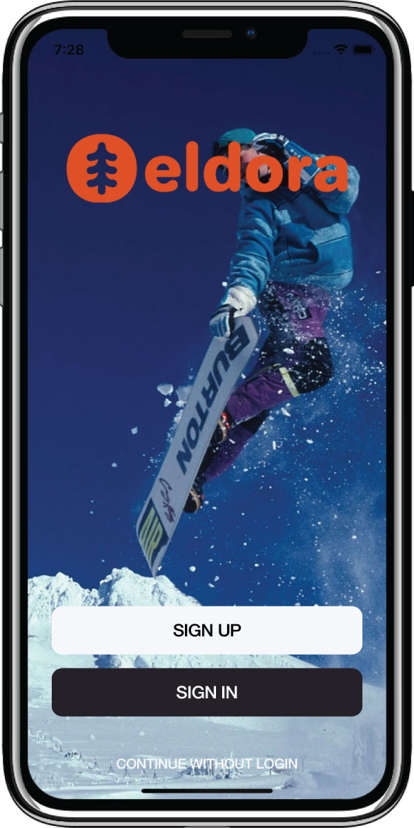 ski area mobile application